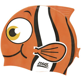 Zoggs Character Silicone Cap Junior Orange